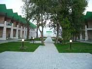 Украина, Затока, база отдыха Изумруд, станция Солнечная